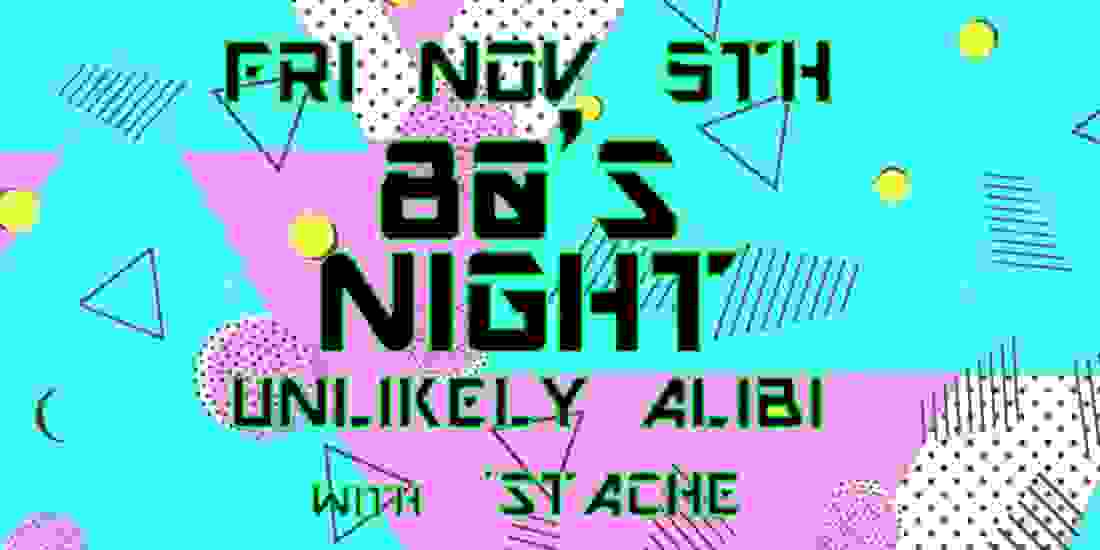 80's Night at The Brass Rail Event Image