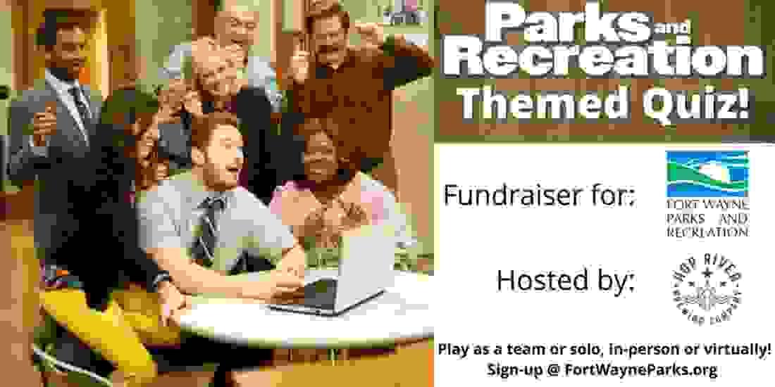 Parks & Rec Themed Quiz Event Image