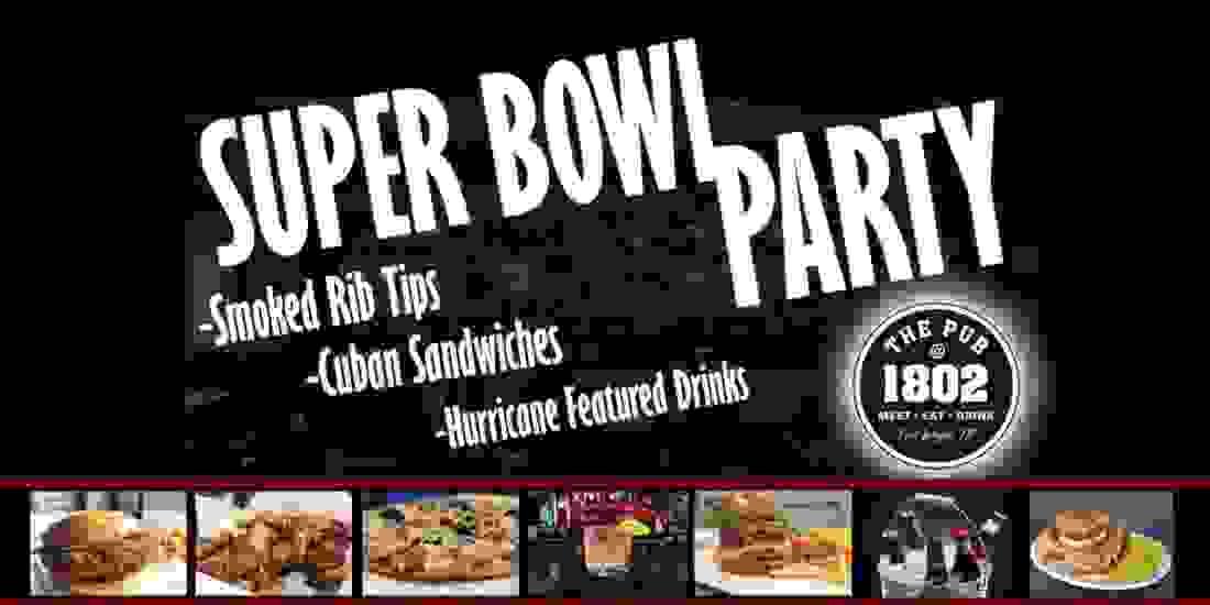 Super Bowl Party Event Image