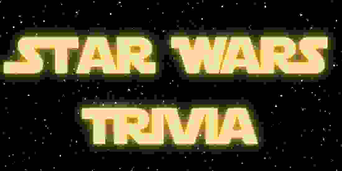 Star Wars Trivia (Original Trilogy) Event Image