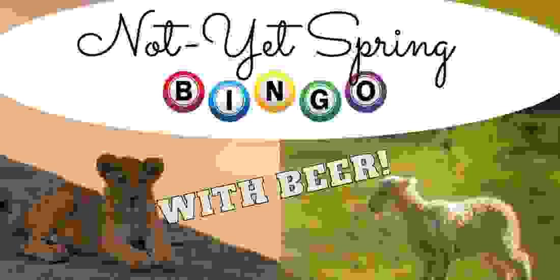 Not-Yet-Spring Bingo Event Image