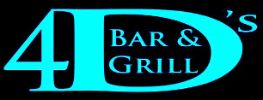 Four D's Bar & Grill Logo